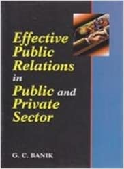 Effective public relations in public and private sector