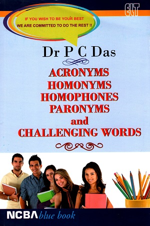 Acronyms Homonyms Homophones Paronyms And Challengig Words