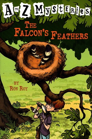 A to Z Mysteries: The Falcon's Feathers (A Stepping Stone Book(TM)): 6